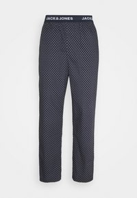 Jack & Jones - JACDOTS PANTS - Pyžamový spodní díl - dress blues - 0