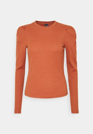 VMPOLLY PUFF TOP  - Long sleeved top - auburn