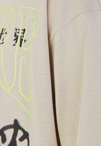 Bershka - Print T-shirt - beige - 5