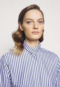 Victoria Beckham - Blouse - blue/white - 7