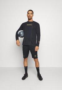 Nike Performance - PARIS ST GERMAIN SHORT - Korte sportsbukser - black/truly gold - 1