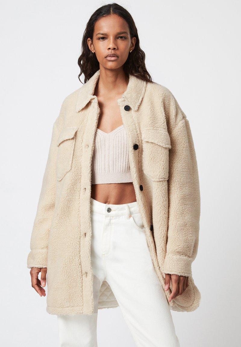 AllSaints - SOPHIE JACKET - Short coat - stone white