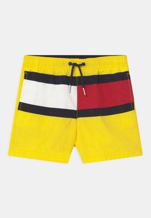MEDIUM DRAWSTRING - Swimming shorts - neon yellow