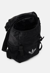 adidas Originals - TOPLOADER UNISEX - Rucksack - black/white - 2