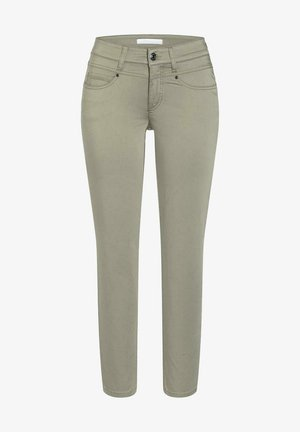 Slim fit jeans - pale olive