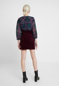Dorothy Perkins - PATCH POCKET SKIRT - Mini skirt - mauve - 2