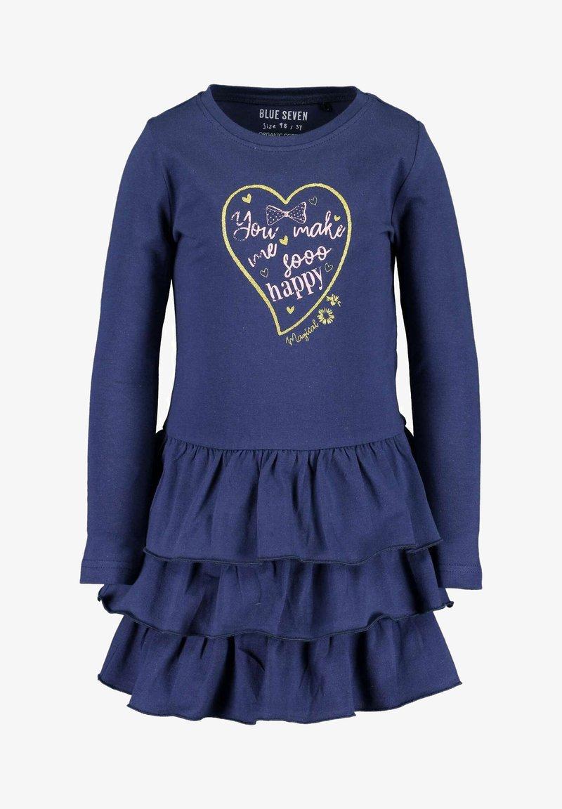 Blue Seven - MAGICAL BOWGIRL - Day dress - dark blue