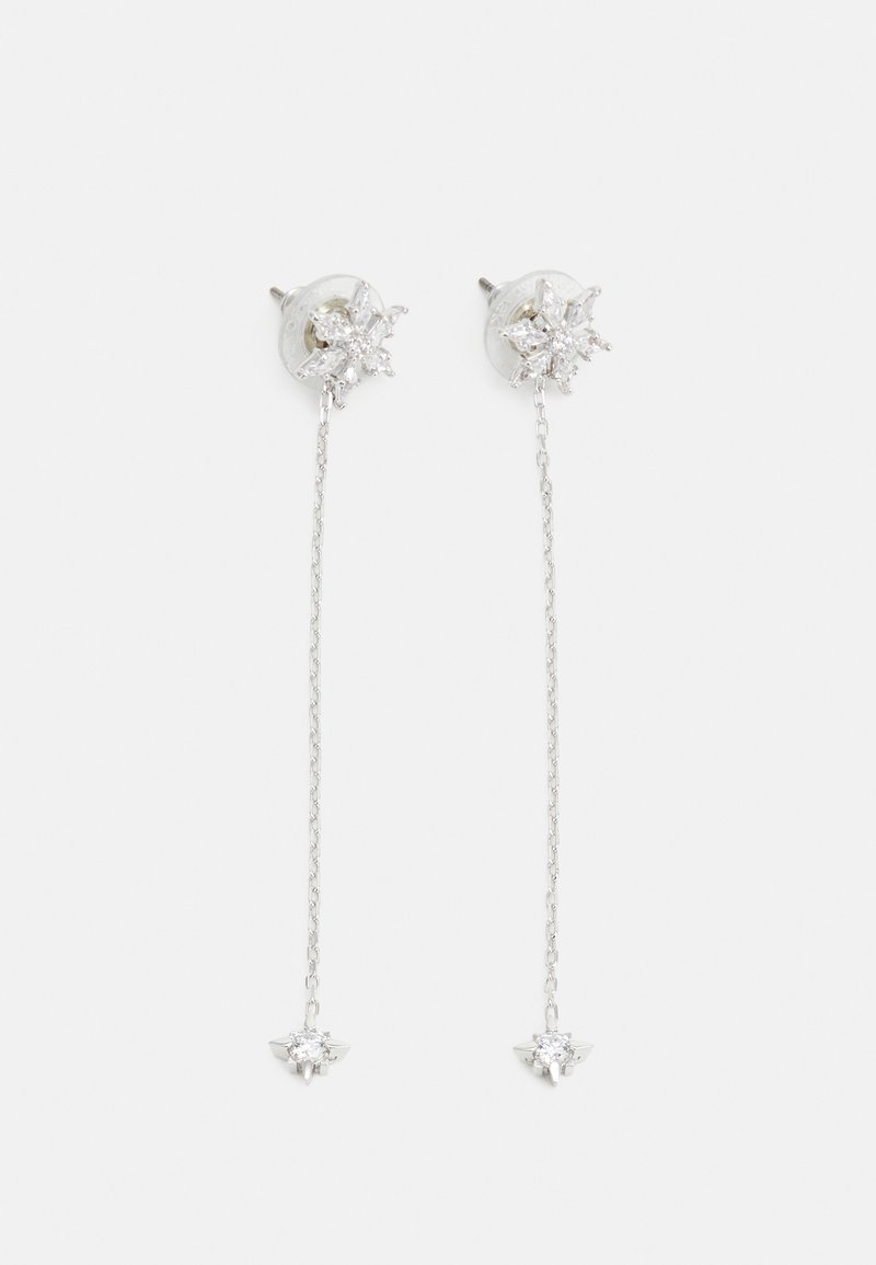 Swarovski - MAGIC CHAIN - Earrings - silver-coloured