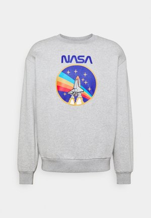 NASA ROCKET CREW - Sweatshirt - grey marl