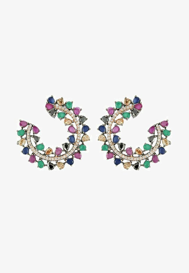 MULTI-COLOR STONE CRUISE SALAMANDER - Boucles d'oreilles - multi-coloured