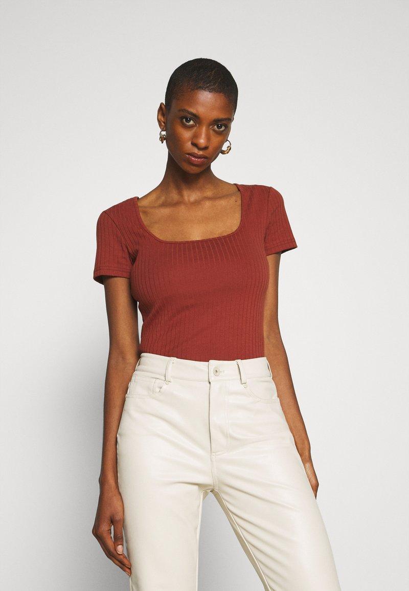 Anna Field - Basic T-shirt - brown