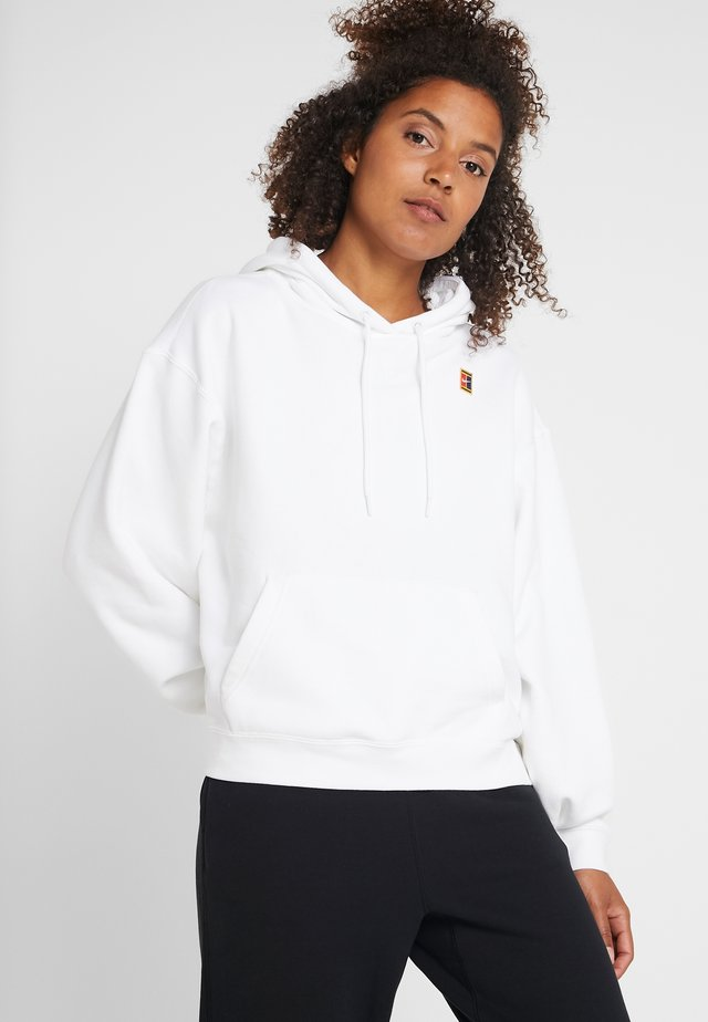 HERITAGE HOODIE - Jersey con capucha - white
