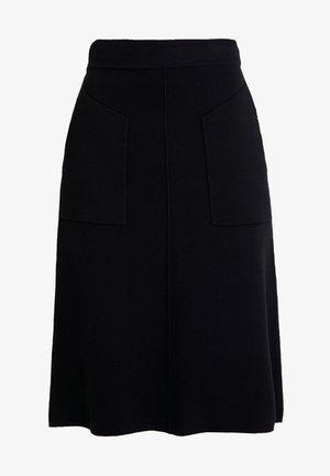 MARIE - A-snit nederdel/ A-formede nederdele - schwarz