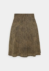 Moss Copenhagen - RIKKELIE SKIRT  - Mini skirt - brown - 1