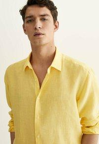 Massimo Dutti - Shirt - yellow - 2