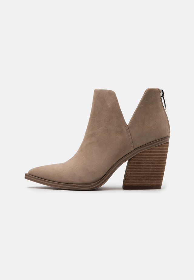 ALYSE - High heeled ankle boots - tan