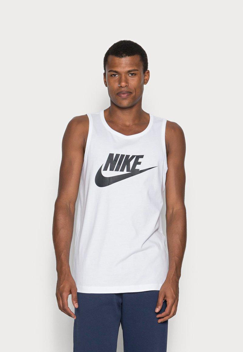 Nike Sportswear - TANK ICON FUTURA - Top - white/black