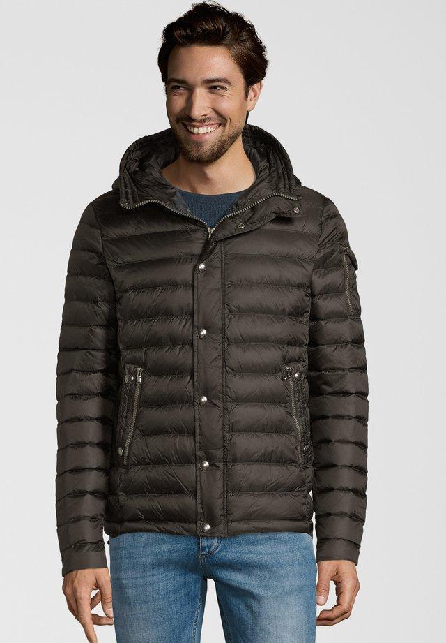 REGULAR FIT - Down jacket - black
