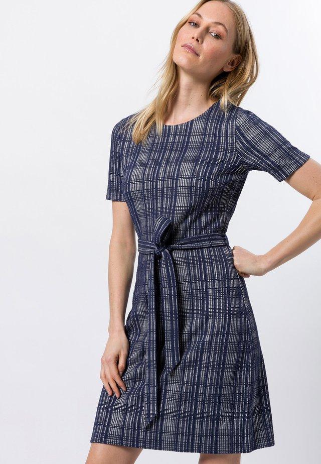 Korte jurk - velvet blue