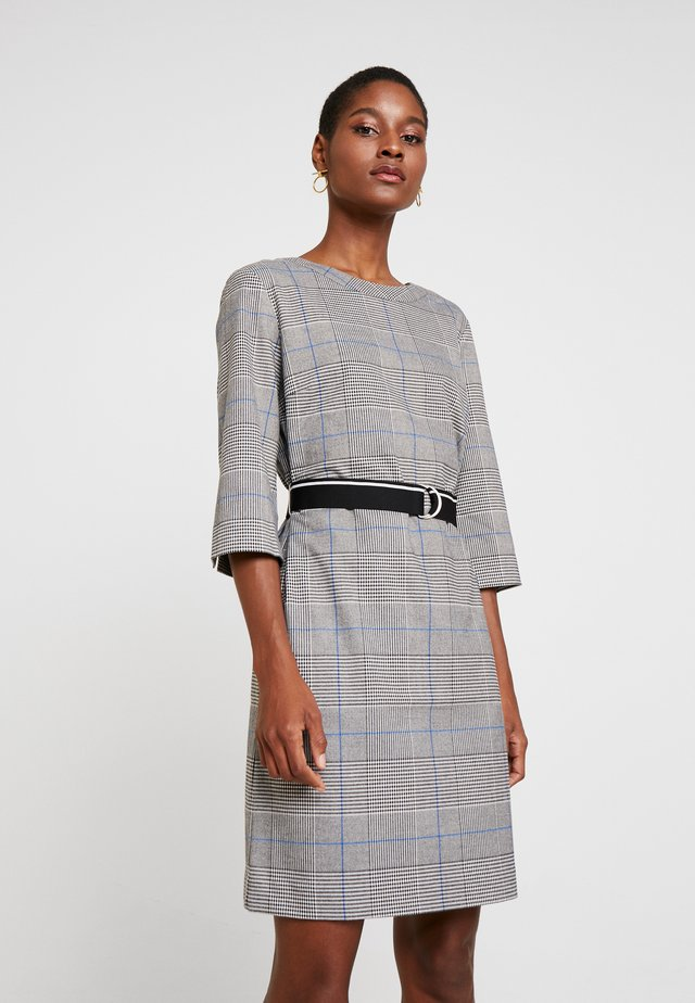 Day dress - silver grey