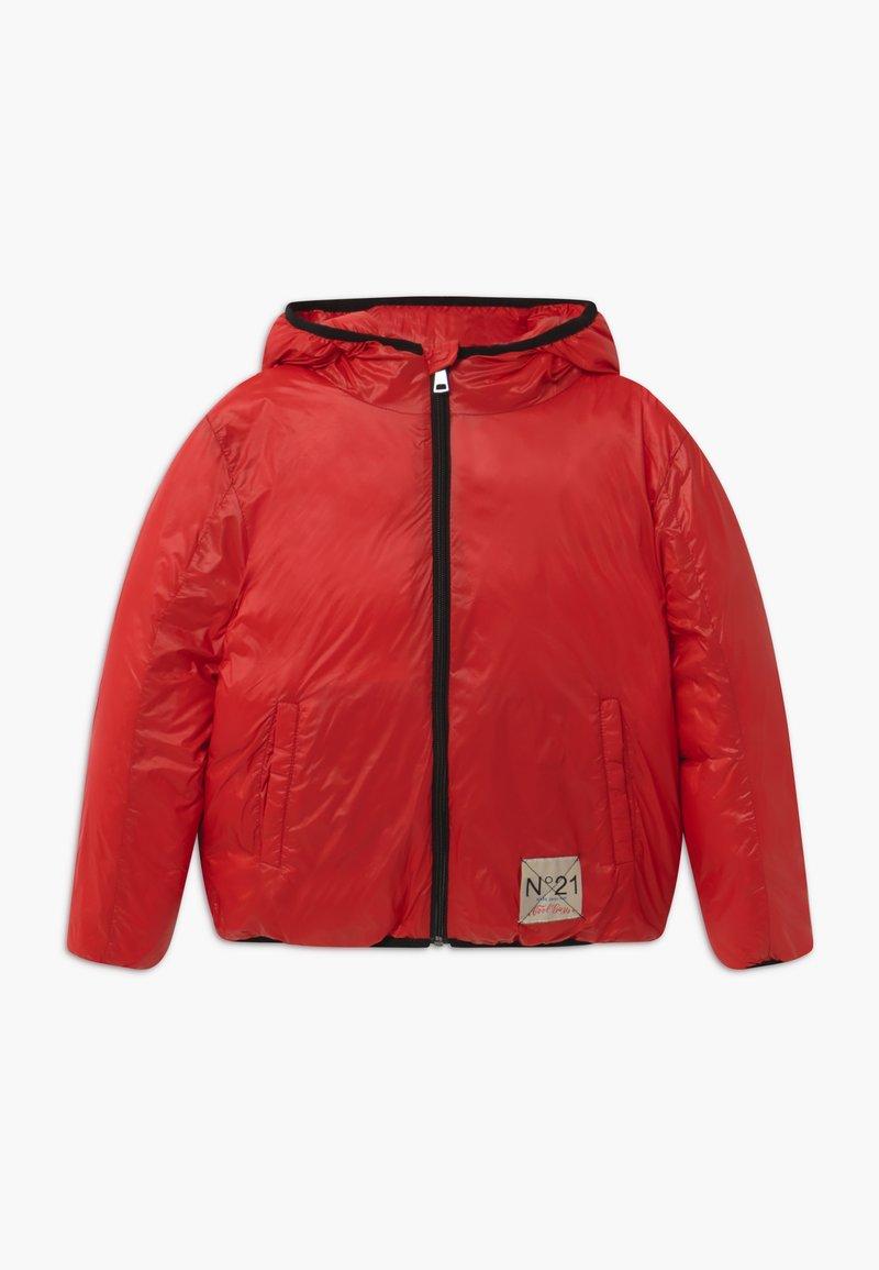 N°21 - GIACCA - Piumino - bright red