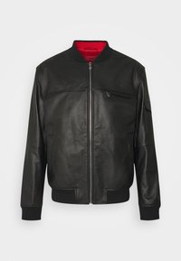 HUGO - LIVIUS - Leather jacket - black - 5