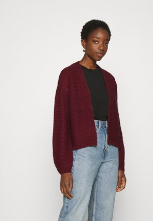VMNO NAME NO EDGE  - Cardigan - cabernet