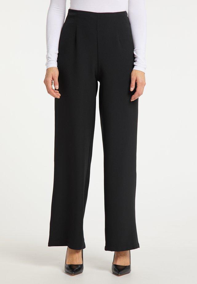 MARLENE - Trousers - schwarz