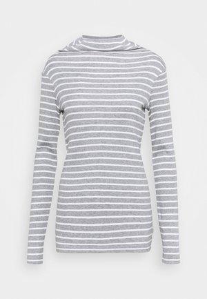 LONGSLEEVE TURTLENECK STRIPED - T-shirt à manches longues - multi/cloudy melange