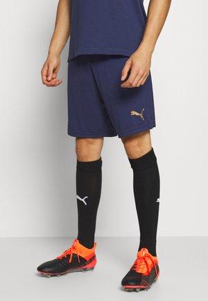 OLYMPIQUE MARSAILLE TRAINING SHORTS POCKETS - Sports shorts - peacoat/bleu azur