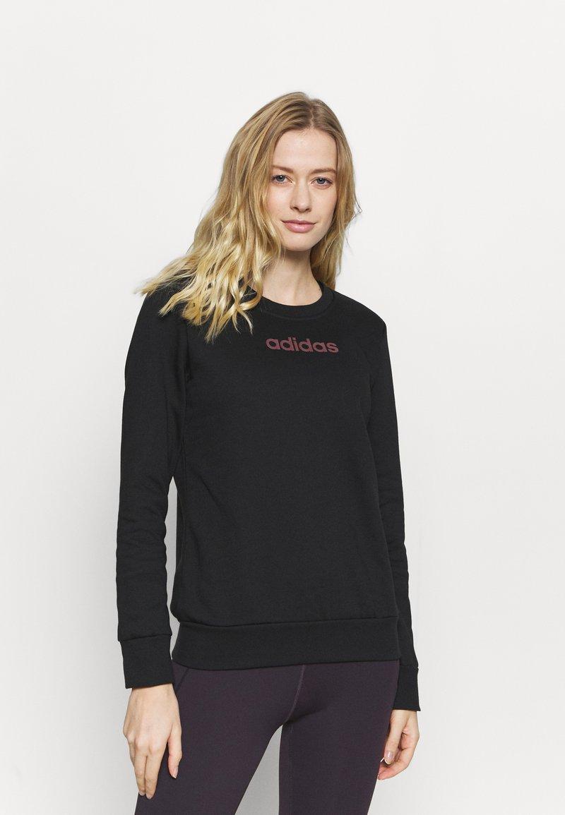adidas Performance - CREW - Sweatshirt - black