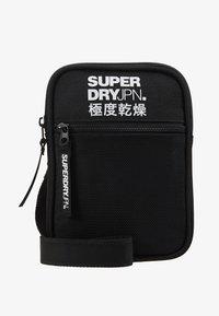 Superdry - SPORT POUCH - Across body bag - black - 1