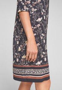 s.Oliver BLACK LABEL - Day dress - black floral aop - 2