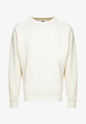 ZIP POCKET CREW - Sweatshirt - sand