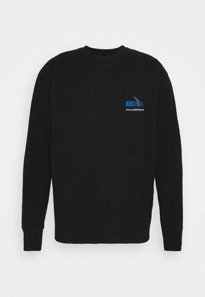 BOXY TEE - Long sleeved top - faded black