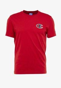 Champion - CREWNECK - Print T-shirt - red - 4