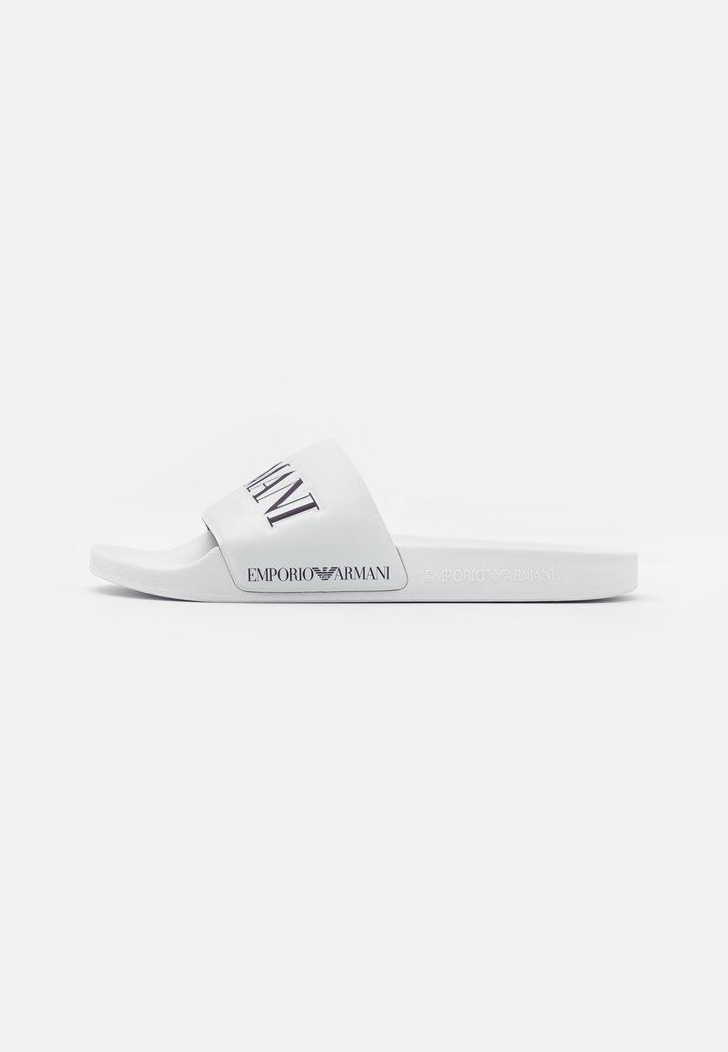 Emporio Armani - Pantofle - white/night
