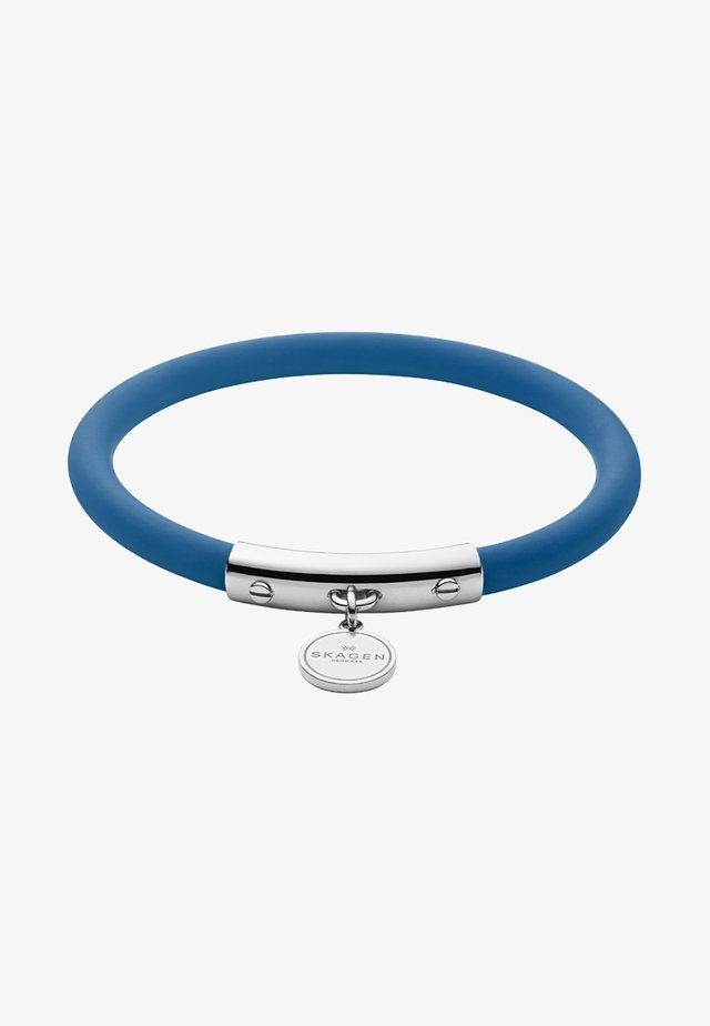 BLAKELY - Pulsera - blue silver-coloured