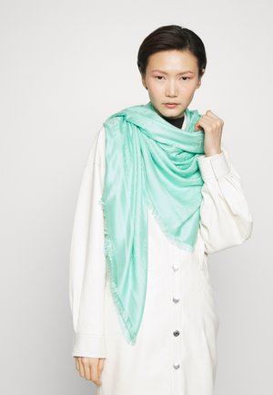 SOFT SQUARE SCARF - Foulard - tiffany