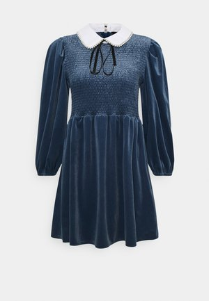 CHOUX MINI DRESS - Day dress - blue