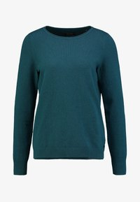 Marc O'Polo - LONGSLEEVE BASIC - Jumper - dusky emerald - 3