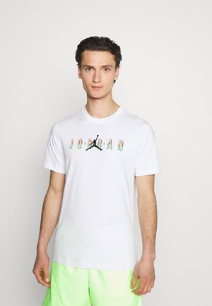 CREW - Print T-shirt - white