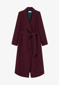 Mango - IN WICKEL-OPTIK - Winter coat - bordeaux - 7