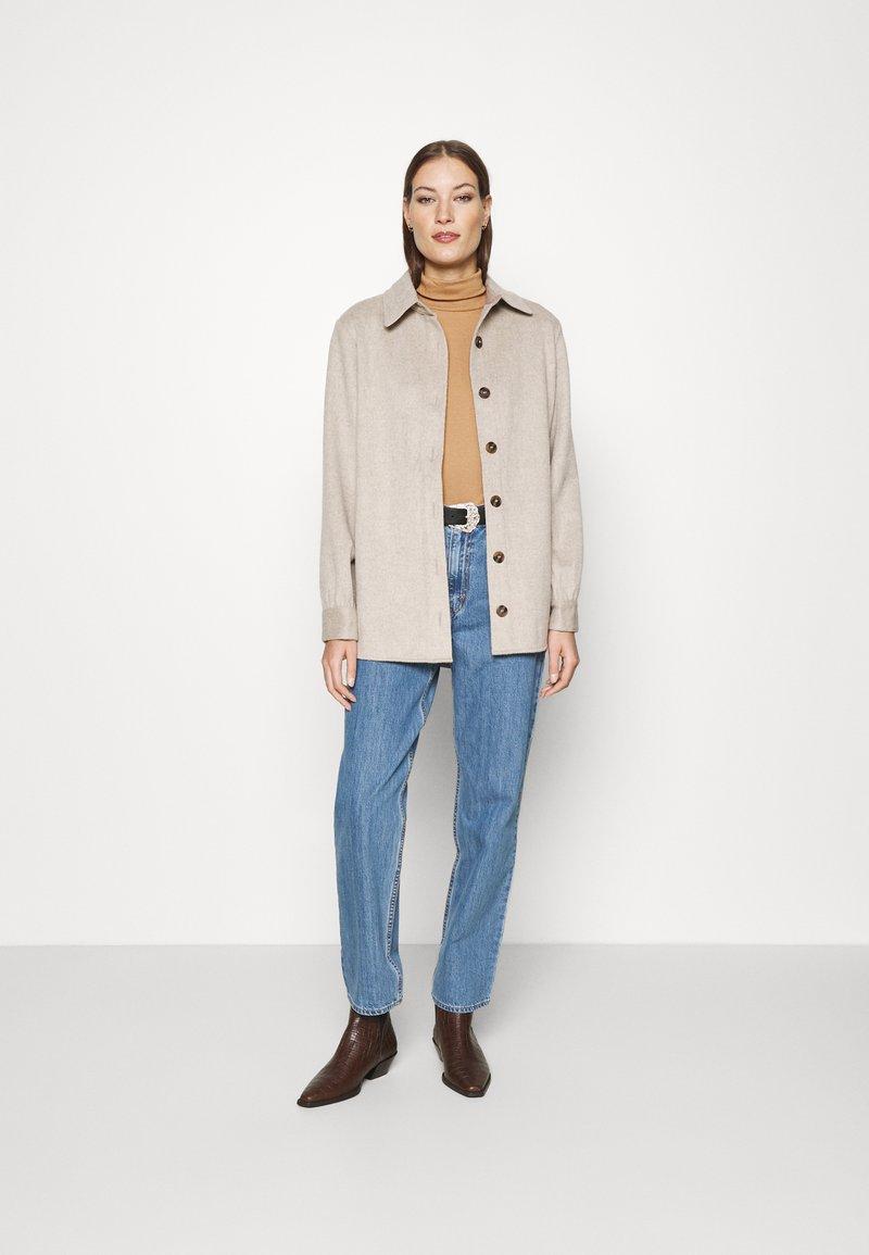 Dorothy Perkins - ROLL NECK 2 PACK  - Long sleeved top - black/camel