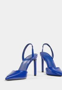 Bershka - High heels - metallic blue - 6