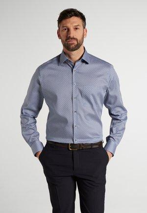MODERN FIT - Skjorte - blau/grau