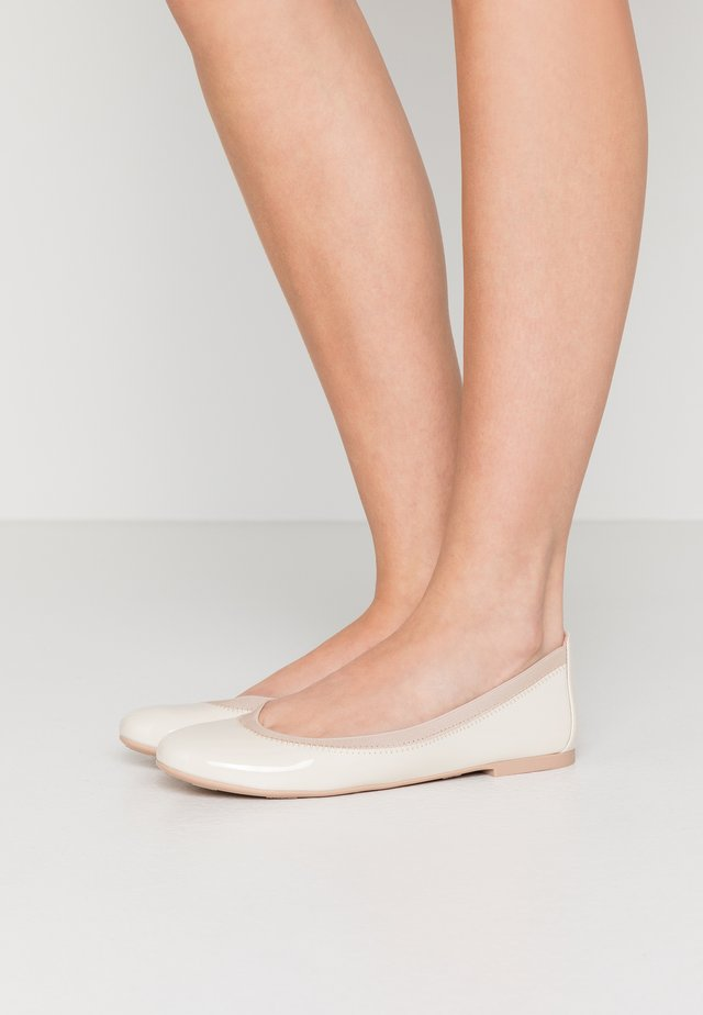 SHADE - Ballerines - offwhite/coco