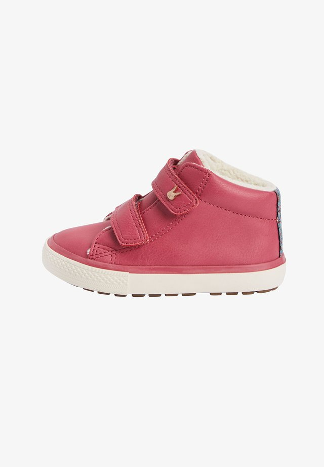 TOUCH FASTENING  - Winter boots - pink