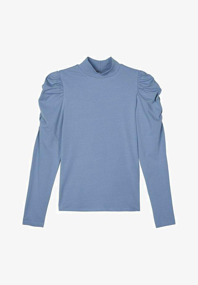 Long sleeved top - stonewash