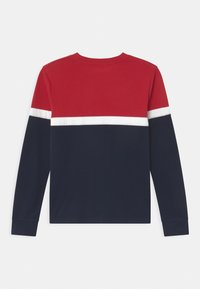 Abercrombie & Fitch - CHEST STRIPE - Long sleeved top - red - 1